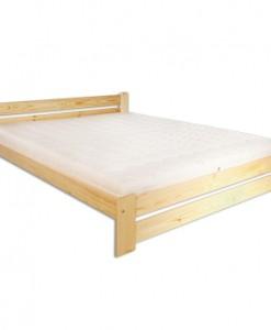 Manželská postel Delmar z masivu borovice