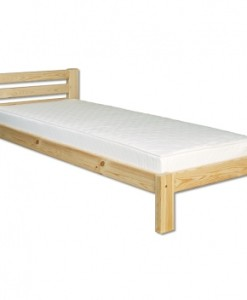 Elegantní jednolůžková postel Carina