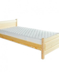 Jednolůžková postel Daira s laťkovým roštem