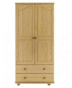 Rustikální šatní skříň Avra