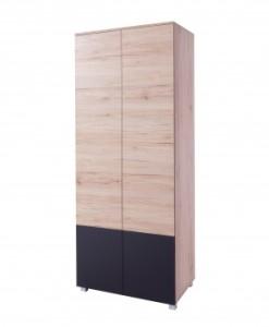 Klasická dvoudveřová šatní skříň Tesa