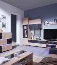 Obývací sestava s vitrínami Tesa 2
