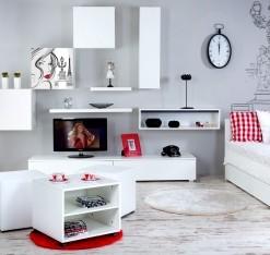Dětský pokoj Etel v bílé barvě