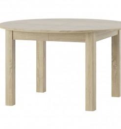 Kulatý jídelní stůl Cecyl - rozkládací