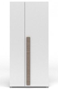 Dvoudveřová šatní skříň Geometria