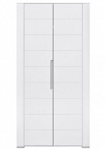 Dvoudveřová šatní skříň Blanc