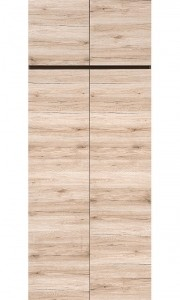 Dvoudveřová šatní skříň Coleta 1