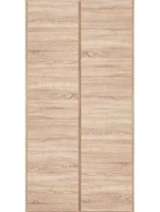 Dvoudveřová šatní skříň Bianco 1