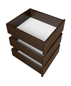 Šuplíky do skříní Naneta