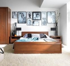 Nábytek do ložnice Frez - višeň primavera