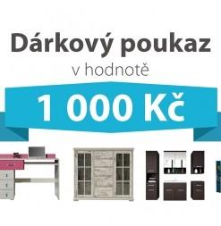 Dárkový poukaz za 1 000 Kč na nábytek podle vlastního výběru