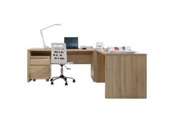 Rohový psací stůl Regiana 4