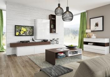 Dvoubarevná obývací sestava Lofera 3