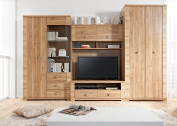 Obývací stěna s šatní skříní Loko