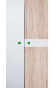 Akce - Moderní dvoudveřová skříň Adrien