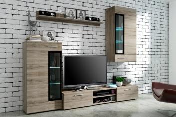 Akce - Moderní obývací stěna Elian