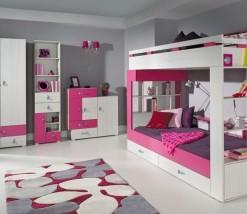 Dívčí pokoj s patrovou postelí Adéla 1