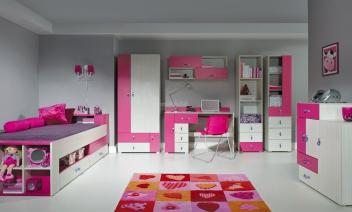 Moderní dětský pokoj pro holku Adéla 3