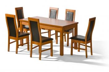 Moderní jídelní set 6+1 Loren