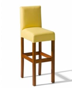 Dřevěná barová židle do kuchyně Nina