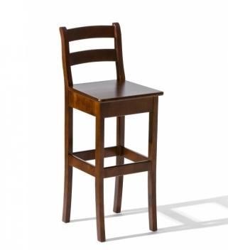 Dřevěná barová židle Victorie