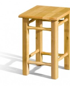 Dřevěný taburet Exus
