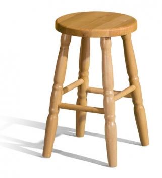 Dřevěná barová židle Bonita