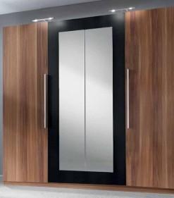 Velká šatní skříň se zrcadlem Veria occ