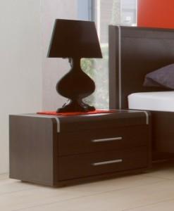 Noční stolek Volinois em – provedení wenge