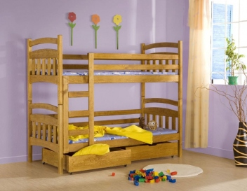Levná patrová postel Terry
