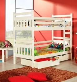 Dětská patrová postel s úložným prostorem Tripoli