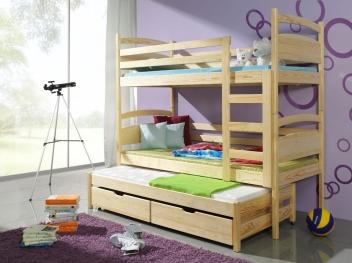 Patrová postel s přistýlkou Alfa
