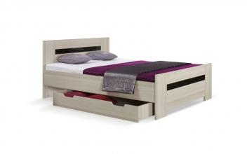 Manželská postel Oreo 2 s úložným prostorem