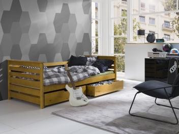 Jednolůžková postel Kristl - masiv