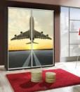 Šatní skříň s motivem letadla Penelopa 7