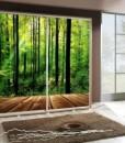 Šatní skříň s motivem lesa Penelopa 31