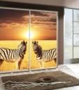 Šatní skříň se zebrami Penelopa 32
